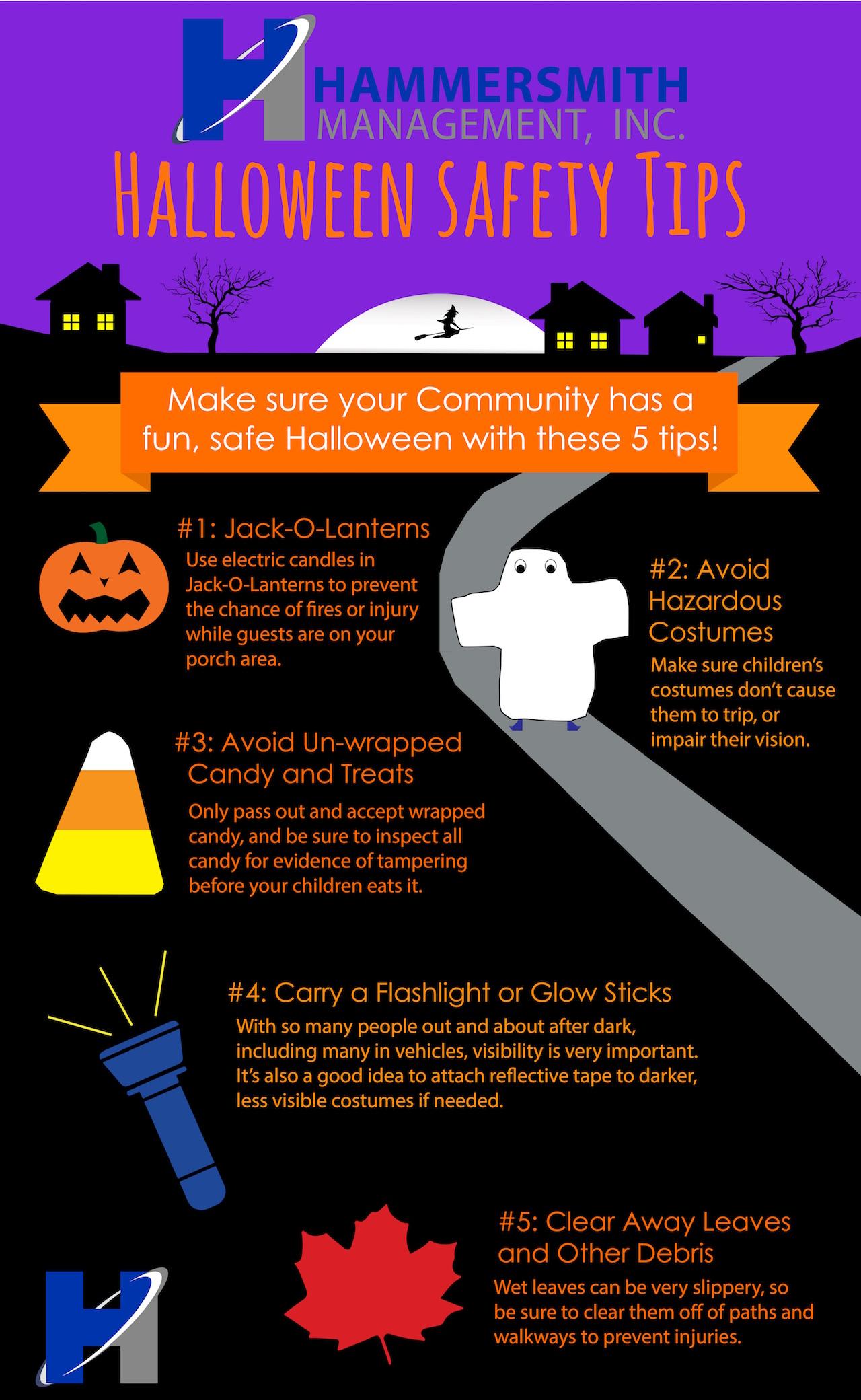 5 Hammersmith Halloween Safety Tips! | Hammersmith Management